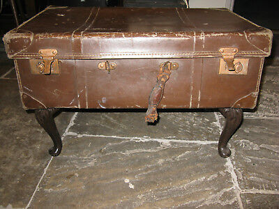 Suitcase Trunk Chest Coffee Side Table Vintage Retro
