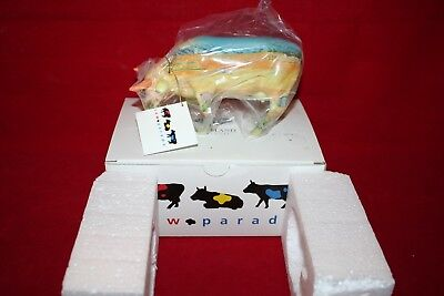 "Cow Parade Figurine "" Vincent Van Cogh "" ( # 9174 - Retired ) New in the box"