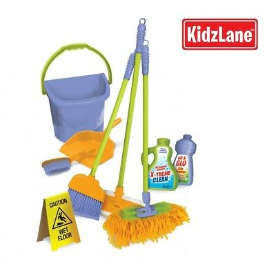 Kidzlane Kids Cleaning Set for Toddlers Up to Age 4. Includes 6 Cleaning Toys