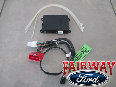 18 - 19 Escape OEM Ford Security System w/ Remote Start uses Factory Flip Key!