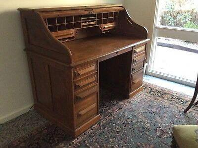 Antique American Cutler Desk