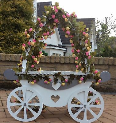 Y218 XL Cinderella CAKE Carriage Wedding Candy Cart MDF Table Display Stand G