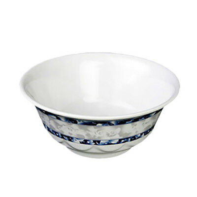 Thunder Group 5275DL 34 oz Blue Dragon Pattern Melamine Scalloped Bowl - 1 Doz