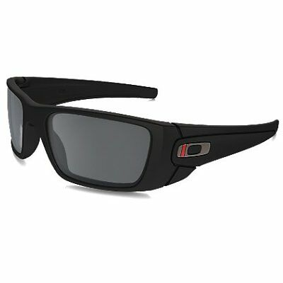 SI Fuel Cell Thin Red Line Satin Black Frames w/ Black Iridium Lenses - Thin Red