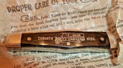 New in Box Case XX Knife Advertising The Coca Cola Bottling Co,Corinth, MS