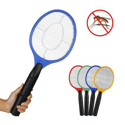 2x Bug Zapper Electric Tennis Racket Mosquito Fly Swatter Killer Insect Handheld