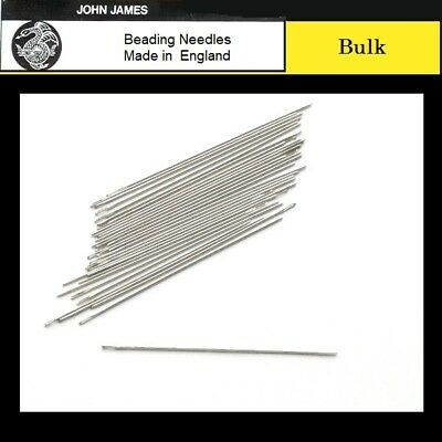 Bulk JOHN JAMES #12 SHORT TAPESTRY Beading Needles