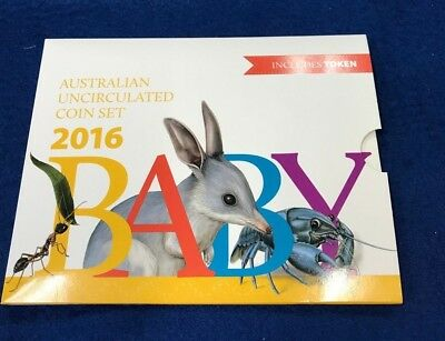 2016 Uncirculated Baby Mint Coin Set - Royal Australian Mint
