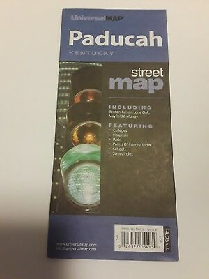 2000ish Street Map of Paducah kentucky