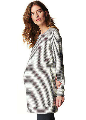 NEW - Esprit - Long Striped Maternity Sweatshirt