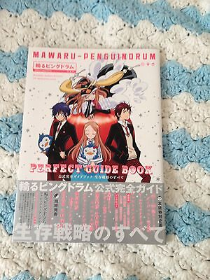 Mawaru Penguindrum Perfect Guide Art Book Anime with obi Lily Hoshino