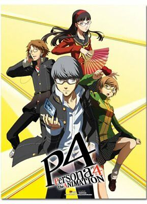 *NEW* Persona 4: Group Wall Scroll by GE Animation