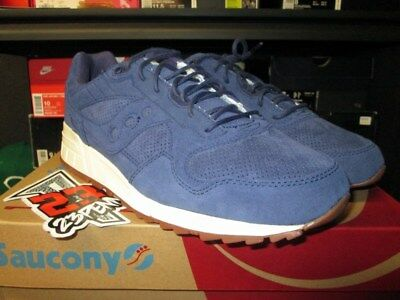 Saucony Navy White Play Cloths X Yellow Grid 9000 Fascinate