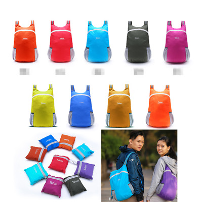 Ultralight Daypack Backpack Packable Foldable Waterproof Travel Bag Outdoor