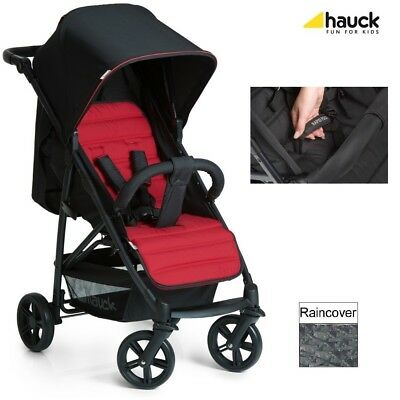 Hauck Rapid 4 Stroller (Caviar/Tango) One Handed Pull Up Folding