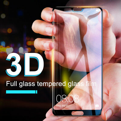 9H Full Coverage Tempered Glass Screen Protector for HUAWEI Nova 3i 3e & P20 Pro