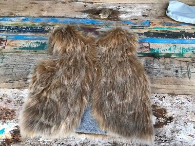 Country Road Reversible Faux Fur Vest - Toddler Girls 18-24 months