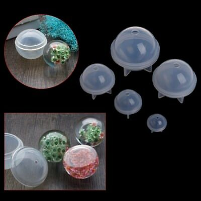 Stereo Spherical Silicone Mold Balls Jewelry Making Resin Decoration Crafts DIY