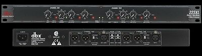 DBX 223XL - Stereo 2 Way Mono 3 Way crossover with XLR Connectors