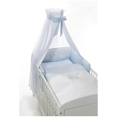 Easy-Baby Komplettset / Bettset / Himmelset 4-teilig Bear stars blue TOP
