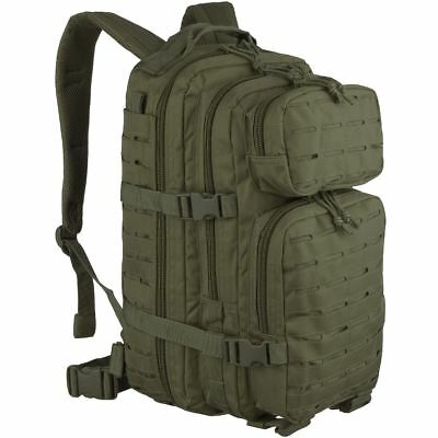Mil-Tec Us Assault Molle Day Pack Small Backpack Military Rucksack Laser Cut Bag