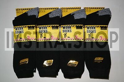 Mens socks Cotton Rich Heavy Duty Work Winter Boot socks