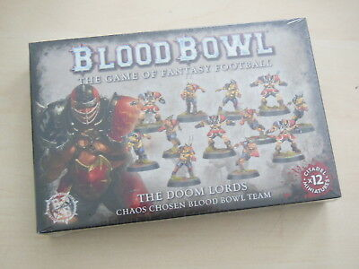 Blood Bowl The Doom Lord Team *Neu* Doom Lords Chaos Chosen
