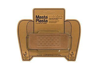 SUEDE MastaPlasta Self-Adhesive Repair Patch BANDAGE10cmx4cm. Fix holes, burns