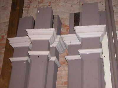 "Set of Six Porch Columns 10'4"" Turn of the Century Home Architectural Salvage"