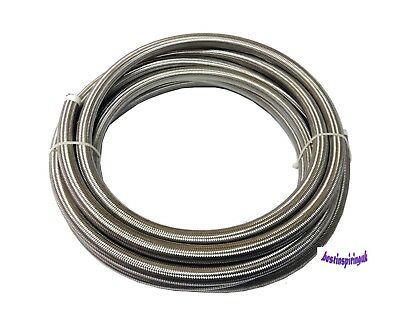 Teflon Ptfe Stainless Steel Braided Hose For Fuel Oil Many Sizes