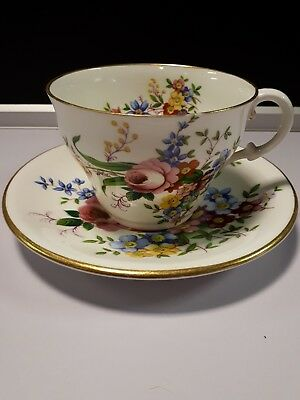 Abbeydale Duffield Bone China Cup &saucer Floral
