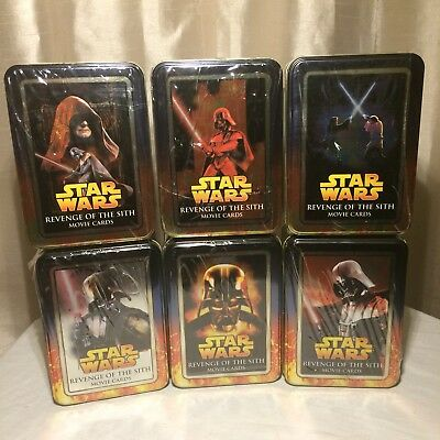 Star Wars Revenge of the Sith Topps Movie Cards Limited Edition Tin New & Sealed