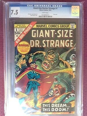 Dr. Strange Giant Size, Cgc 7.5 White Pages