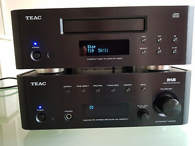 Teac Reference 600 HiFi  Audiphile Stereo Amplifie  AG-H600NT and cd  PD-H600