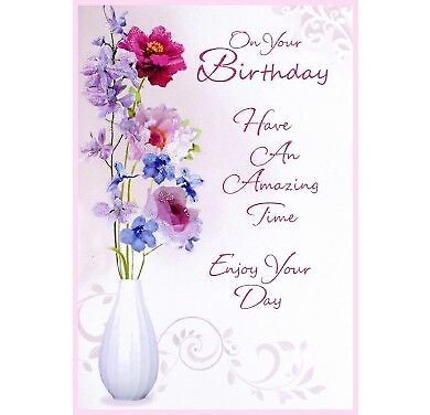 Someone Special Birthday Card Female 8 X 55 199 Picclick Uk
