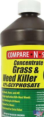 Compare-N-Save Concentrate Grass and Weed Killer, 41-Percent Glyphosate, 32-Ounc