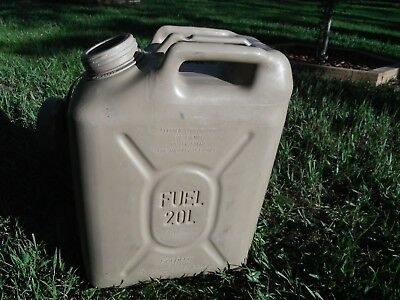 SCEPTER Sahara Sand Tan Jerry Gas Can Fuel REAL Military MFC 5gl 20L JEEP ARMY M