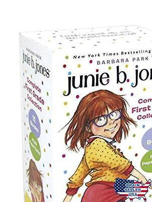 Junie B. Jones Complete First Grade Collection Box set Free Shipping, New