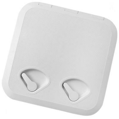 Seaflo ABS Plastic Boat Marine Deck Cover Access Hatch & Lid 370mmx375mm