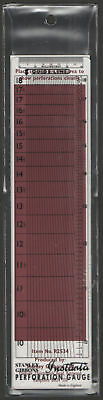 Instanta Perforation Gauge by Stanley Gibbons. Brand New.