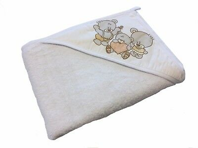 Bear Towel cap output swim for baby child Teddy bear white gift idea