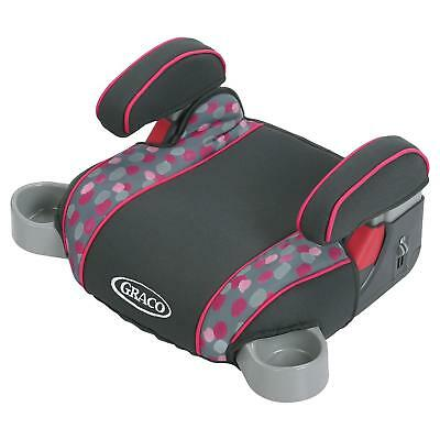 Graco Backless TurboBooster Car Seat Poppy Fits Kids from 40lbs to 100lbs