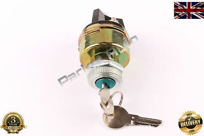 Ignition Starter Switch Barrel With 2 Keys for Car Tractor Trailer (Universal)