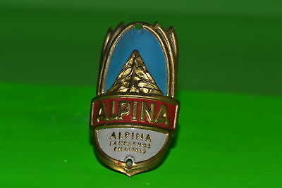 Vintage bicycle - Plaque Logo of the manufacturer-Alpina -4481