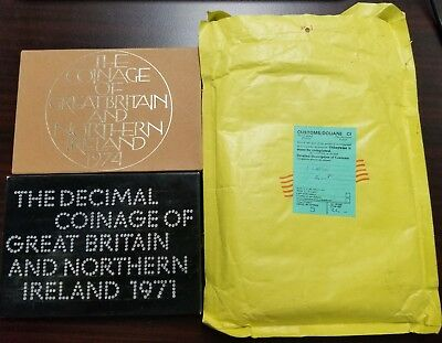 1971 + 1974 Decimal Coinage of Great Britain and Northern Ireland Sets w/ OGP