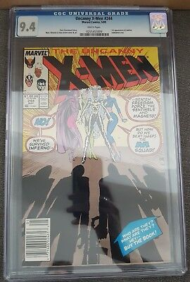 Uncanny X-Men 244 CGC 9.4 ***1st appearance of Jubilee***