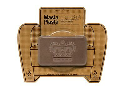 SUEDE MastaPlasta Self-Adhesive Instant Repair Patch CROWN 10cmx6cm