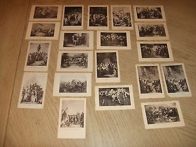 20 VERY RARE 1890s Boon's Cacao History Fact Advertising Cards Dutch Wormerveer
