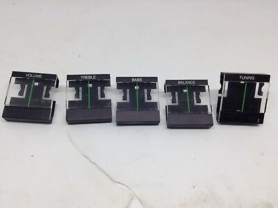 Bang & Olufsen B&O Beocenter 3500 Adjusting Slides, Tuners, Buttons Set of 5