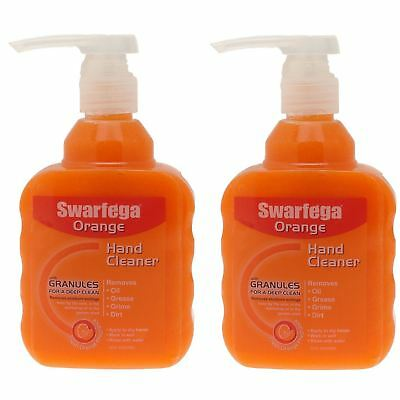 Swarfega Orange Hand Cleaner Pump 450ml - Pack of 2